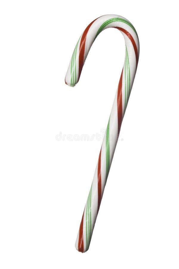 Caramelo-bastón rojo, verde, blanco imagenes de archivo