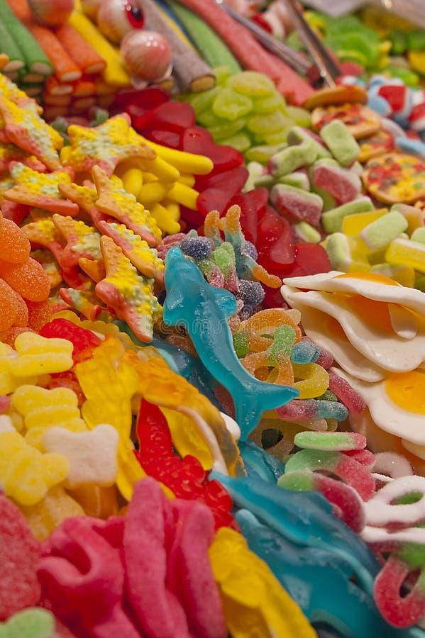Caramelo brillante y colorido imagen de archivo