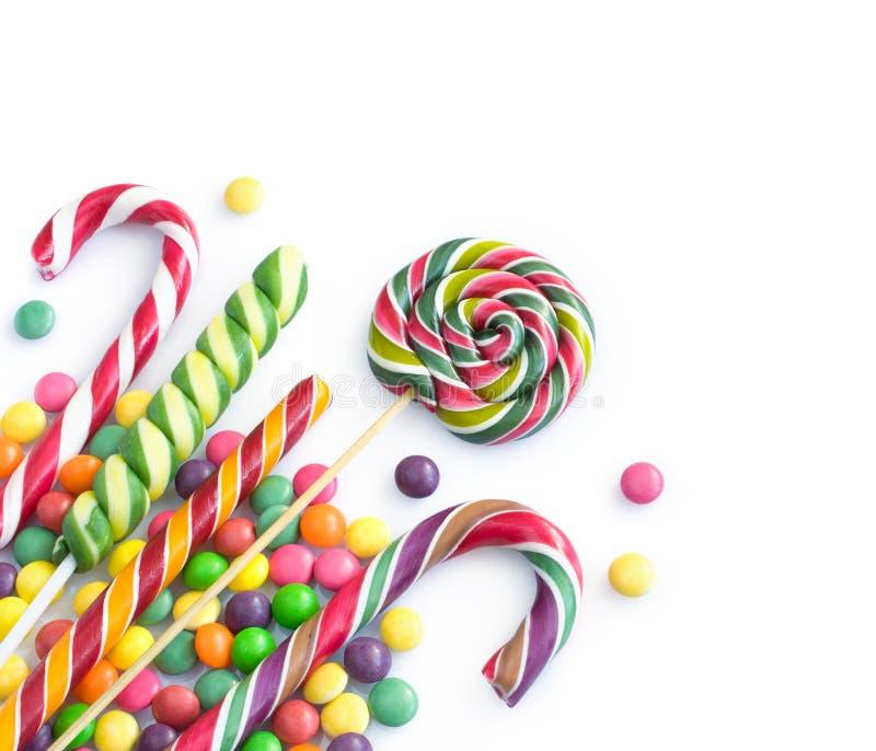 Caramelo coloreado foto de archivo libre de regalías