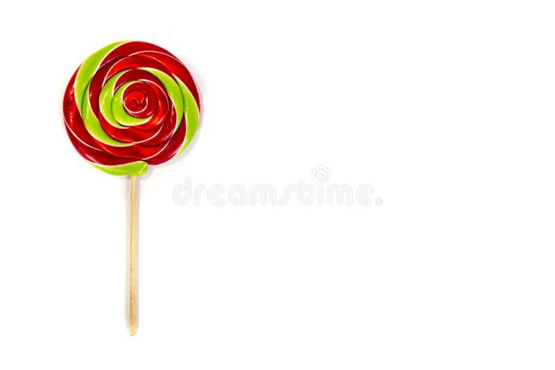 Caramelo colorido del lolipop fotografía de archivo