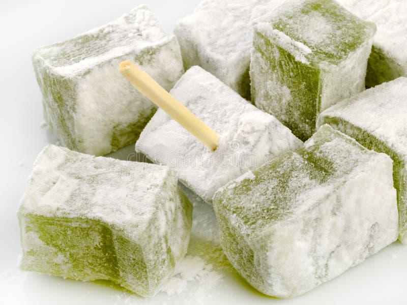 Caramelo con el azúcar de formación de hielo imágenes de archivo libres de regalías