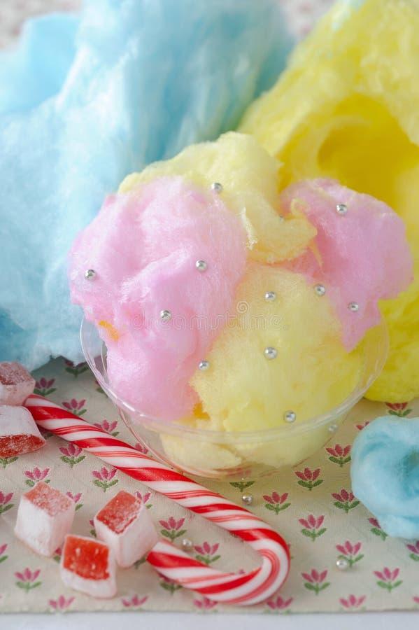 Caramelo de algodón foto de archivo