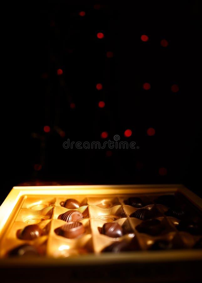 Caramelo de chocolate imagen de archivo