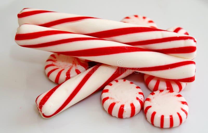 Caramelo de hierbabuena foto de archivo libre de regalías