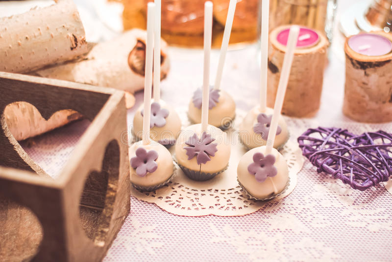 Caramelo de la boda imágenes de archivo libres de regalías