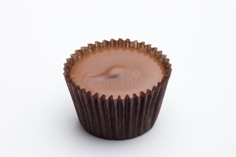 Caramelo de la taza de la mantequilla de cacahuete imágenes de archivo libres de regalías