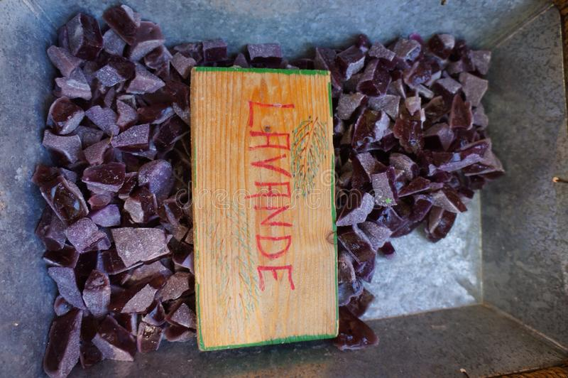 Caramelo de Lavande foto de archivo libre de regalías