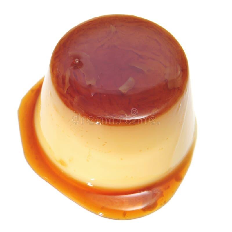 Caramelo de nata fotografía de archivo