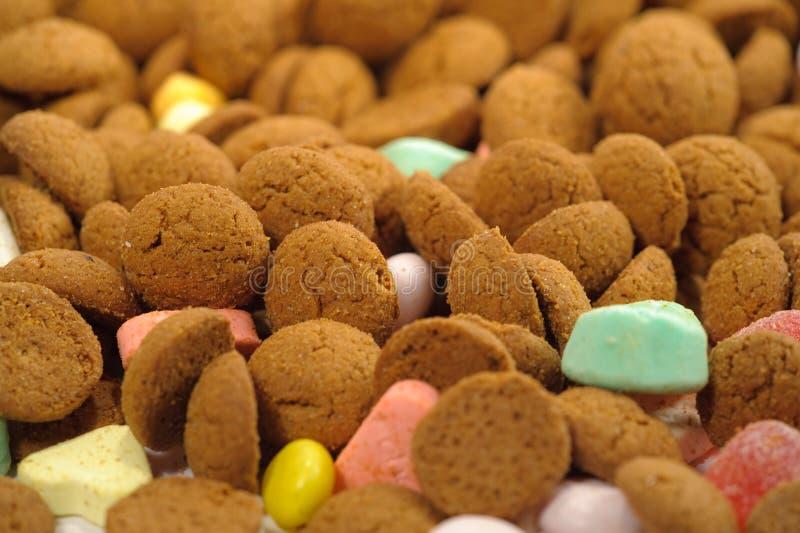 Caramelo de Sinterklaas fotos de archivo libres de regalías