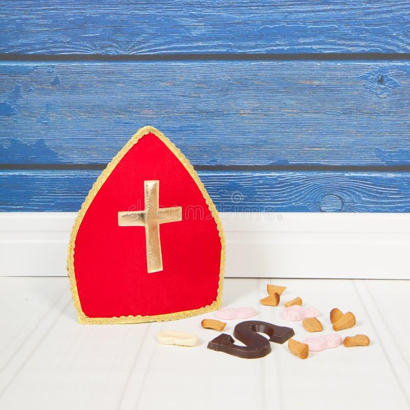 Caramelo de Sinterklaas del holandés imágenes de archivo libres de regalías