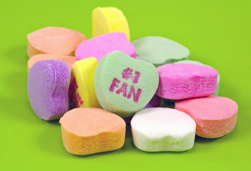 Caramelo del corazón imágenes de archivo libres de regalías