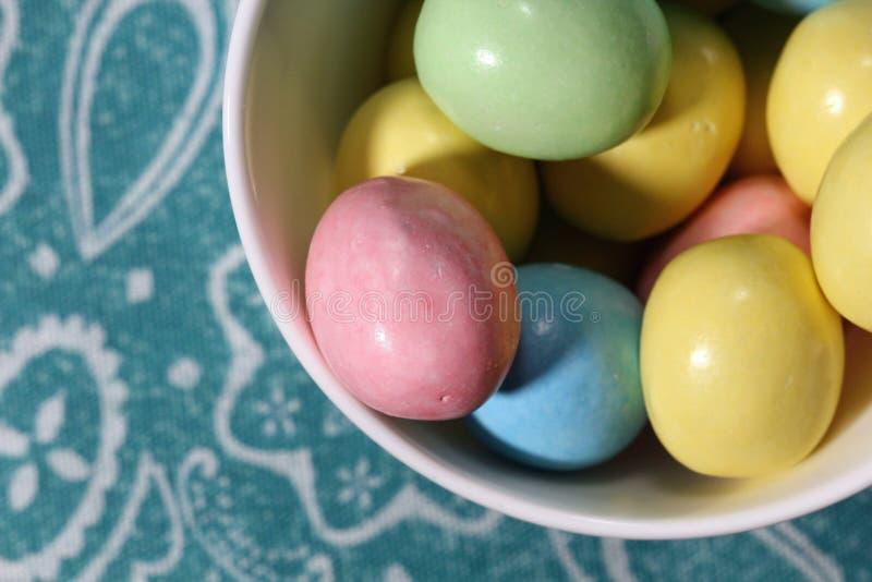 Caramelo del huevo de Pascua foto de archivo