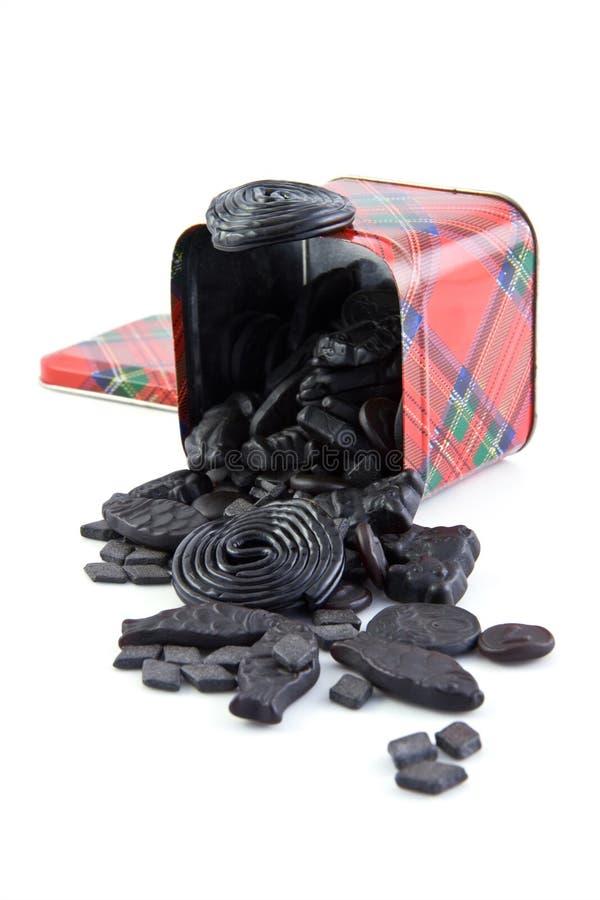 Caramelo del regaliz imagen de archivo libre de regalías
