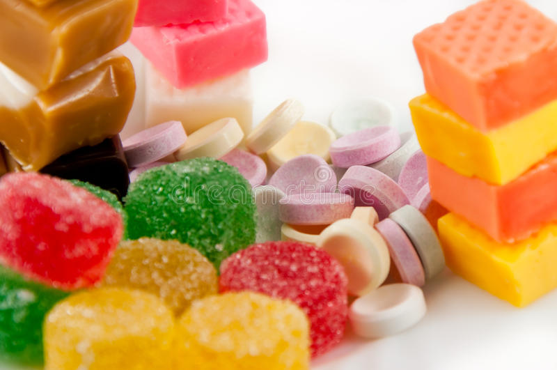 Caramelo dulce fotos de archivo