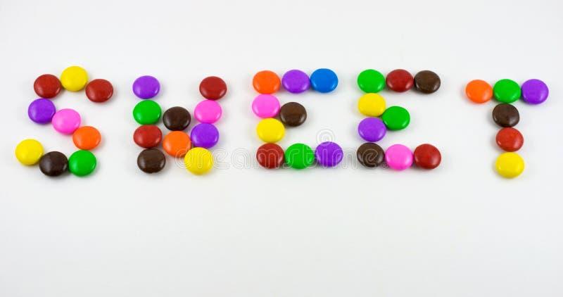 Caramelo dulce imagen de archivo libre de regalías