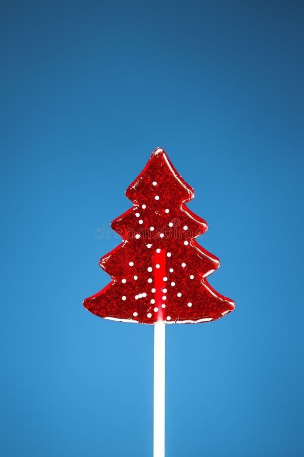 Caramelo dulce del árbol de navidad fotos de archivo libres de regalías