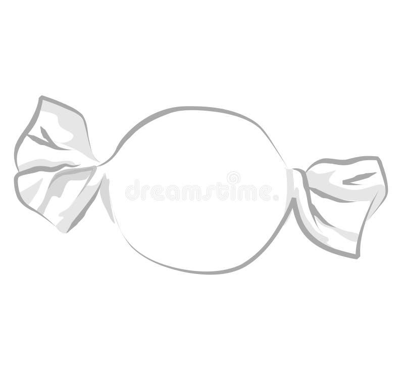 Caramelo + fichero del vector EPS ilustración del vector