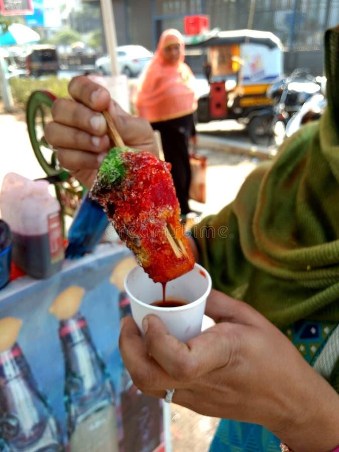 Caramelo indio mágico Mouthwatering del hielo fotos de archivo libres de regalías