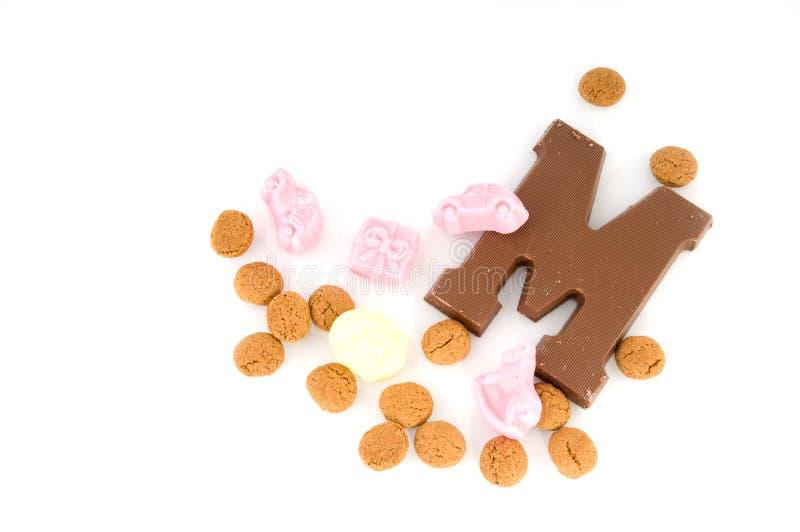 Caramelo Para Sinterklaas Imagen de archivo