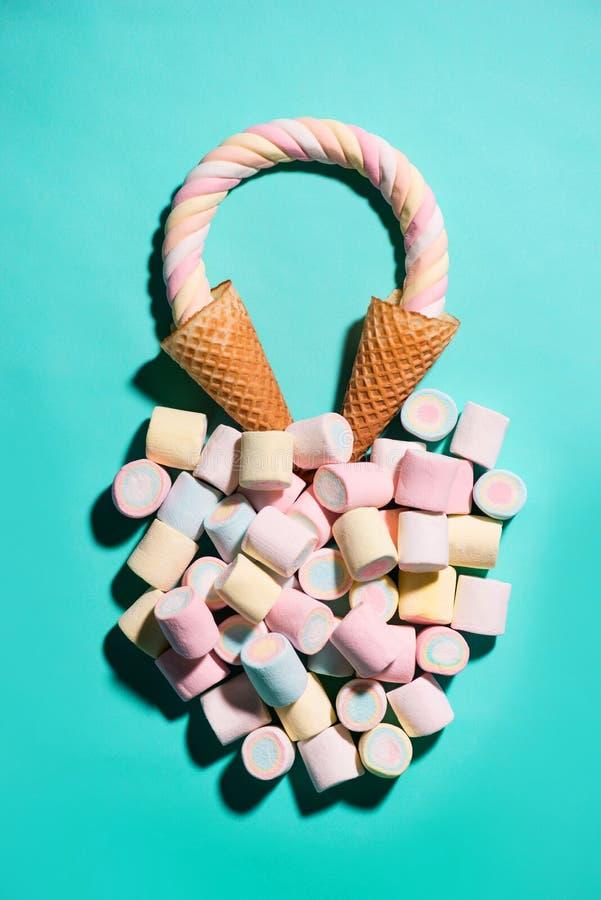 Caramelos coloridos fotos de archivo