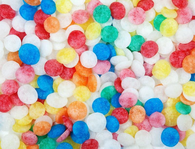 Caramelos de azúcar fotografía de archivo