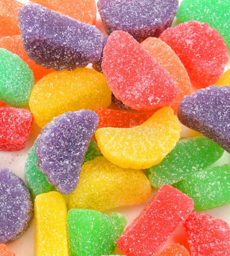 Caramelos de azúcar de la jalea imagenes de archivo