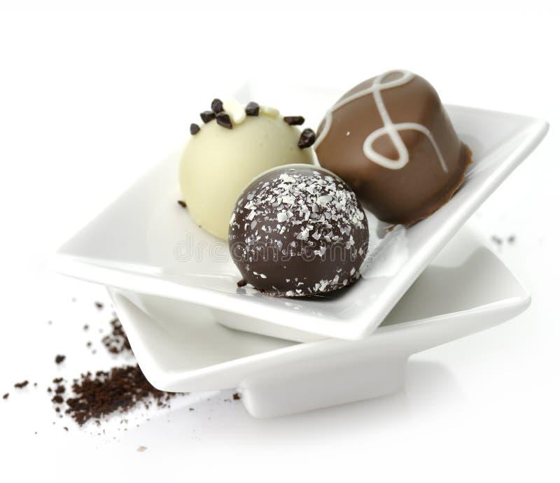 Caramelos de chocolate foto de archivo libre de regalías