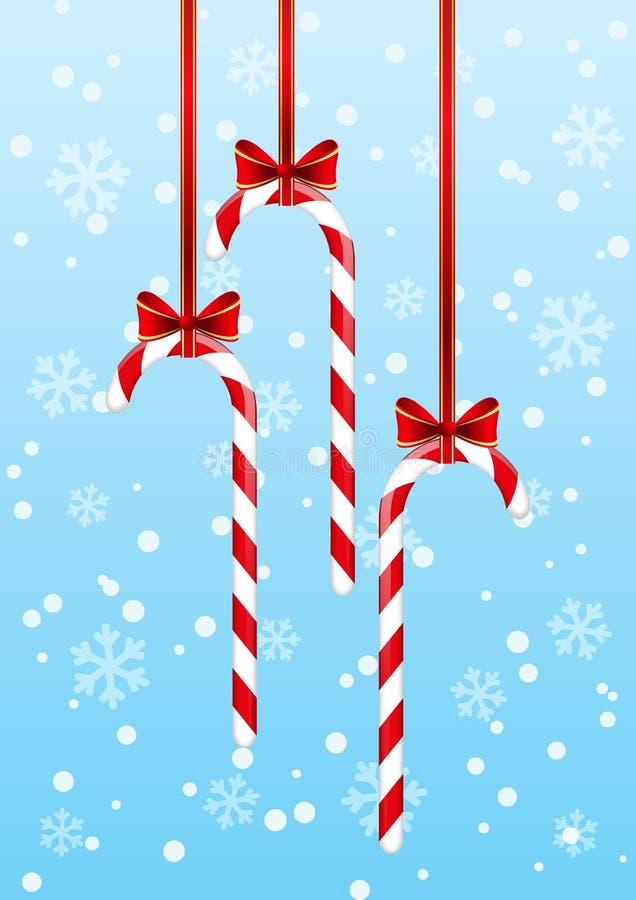 Caramelos de la Navidad libre illustration