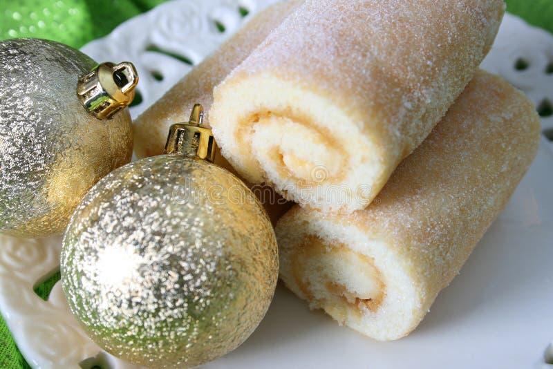 Caramelos do Natal foto de stock