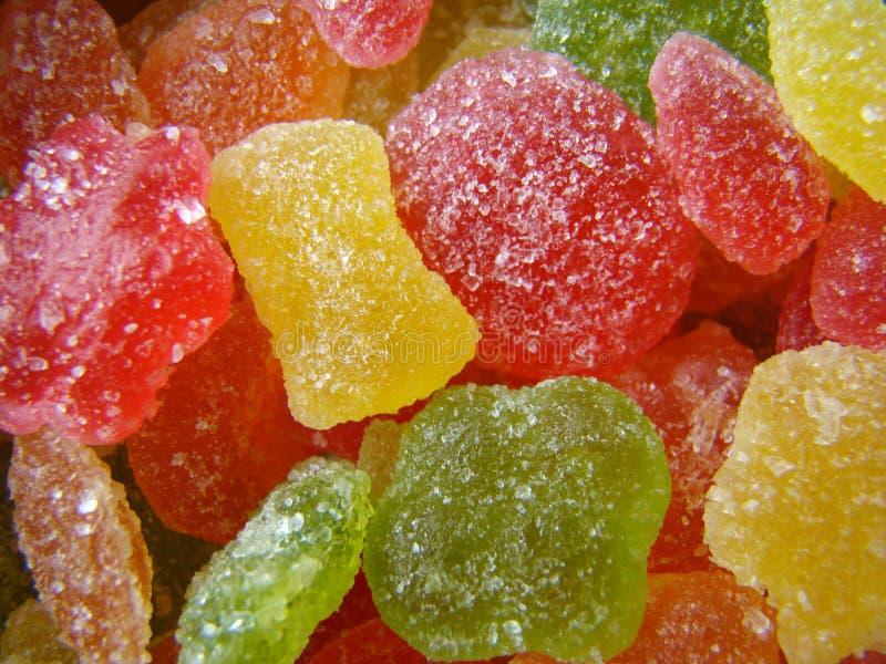 Caramelos multicolores Monpase fotografía de archivo