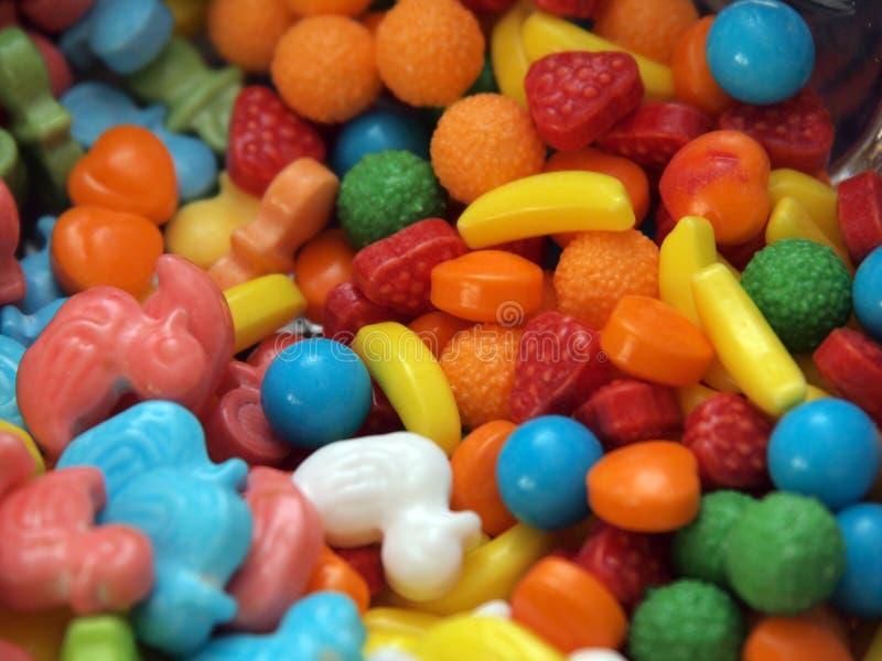 Caramelos por todas partes fotografía de archivo