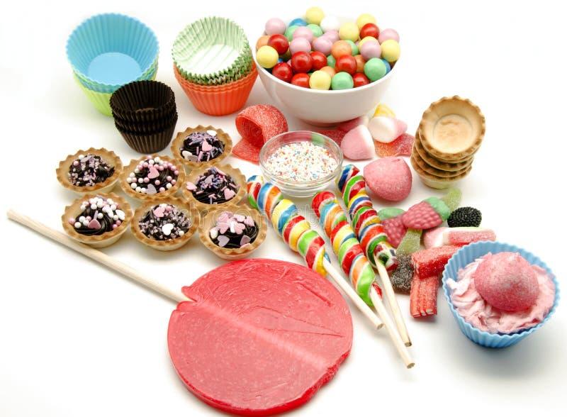 Caramelos y dulces foto de archivo libre de regalías