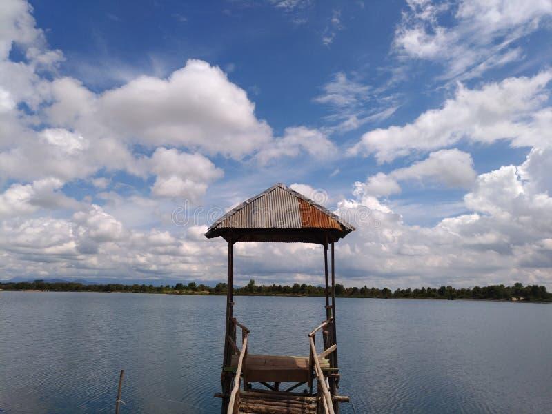 Caramin lake 2. Location: Guntung Manggis, Banjarbaru, Indonesia stock images