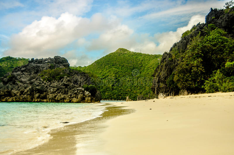 Caramoan, Philippines. Bicol Region, Camarines Sur, Caramoan Philippines royalty free stock image
