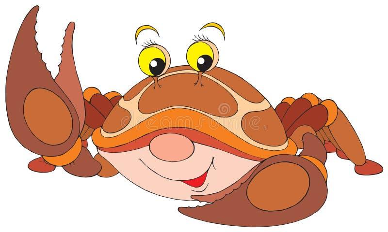Caranguejo ilustração do vetor