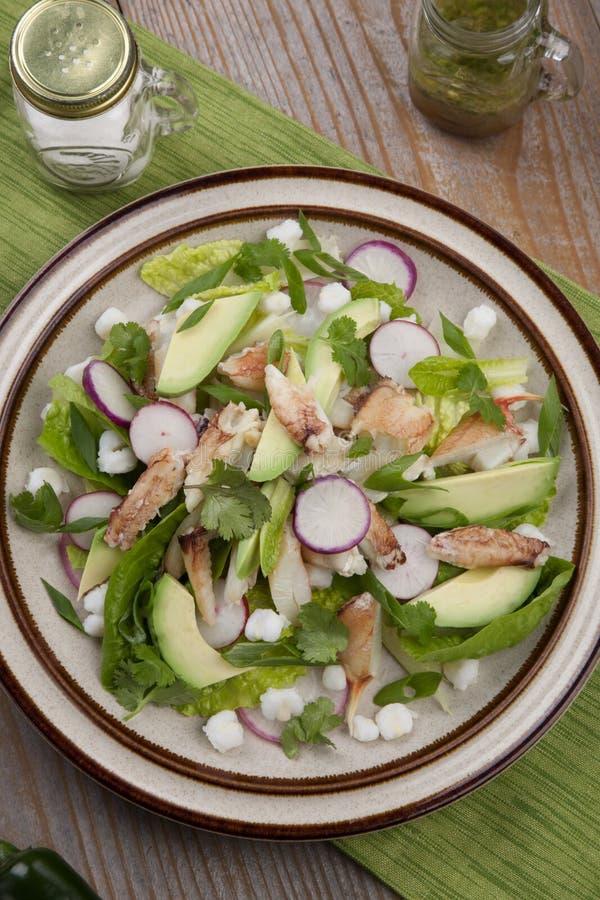 Caranguejo Salad foto de stock royalty free