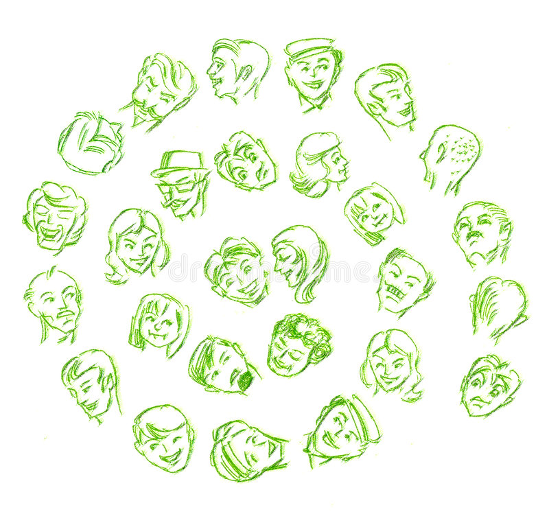 Caras libre illustration