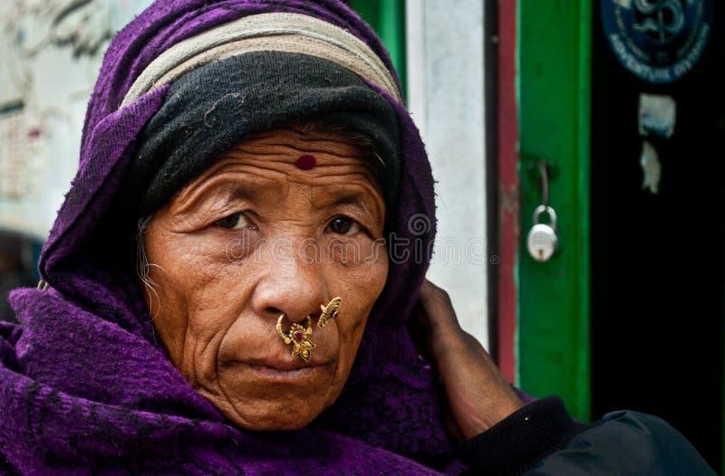 Caras de Gangtok fotografia de stock