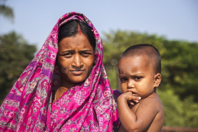 Caras de la India fotografía de archivo