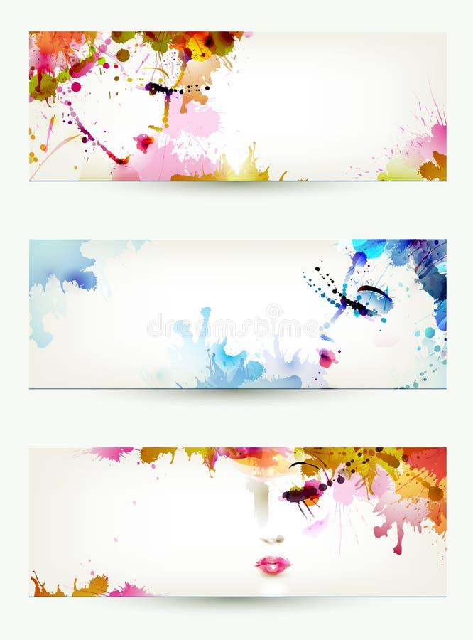 Caras de las mujeres libre illustration