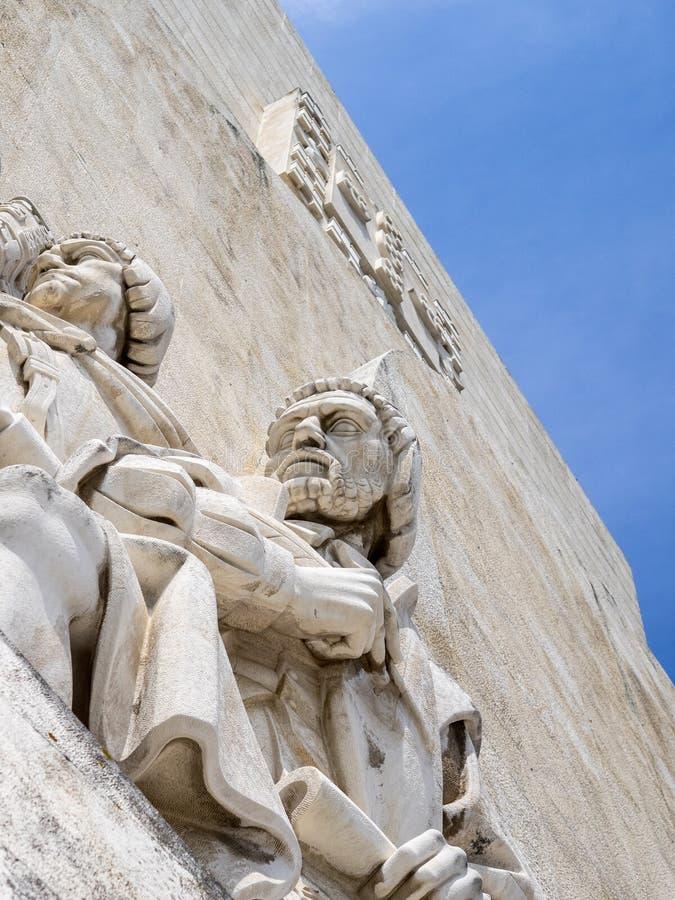 Caras del monumento fotografía de archivo