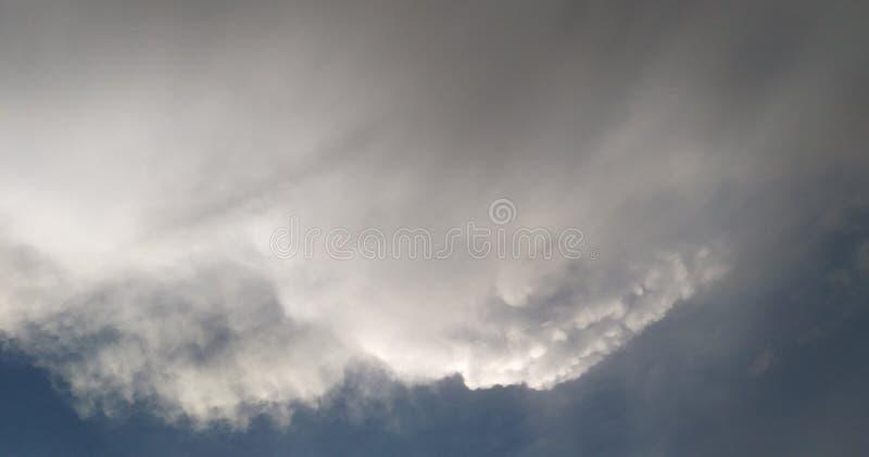 Caras en nube imagenes de archivo