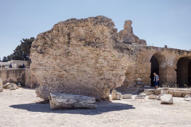 Caratagina in Tunisia royalty free stock photos