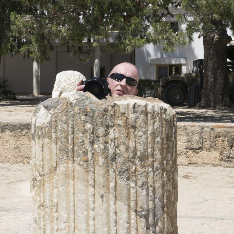 Caratagina w Tunezja zdjęcie stock