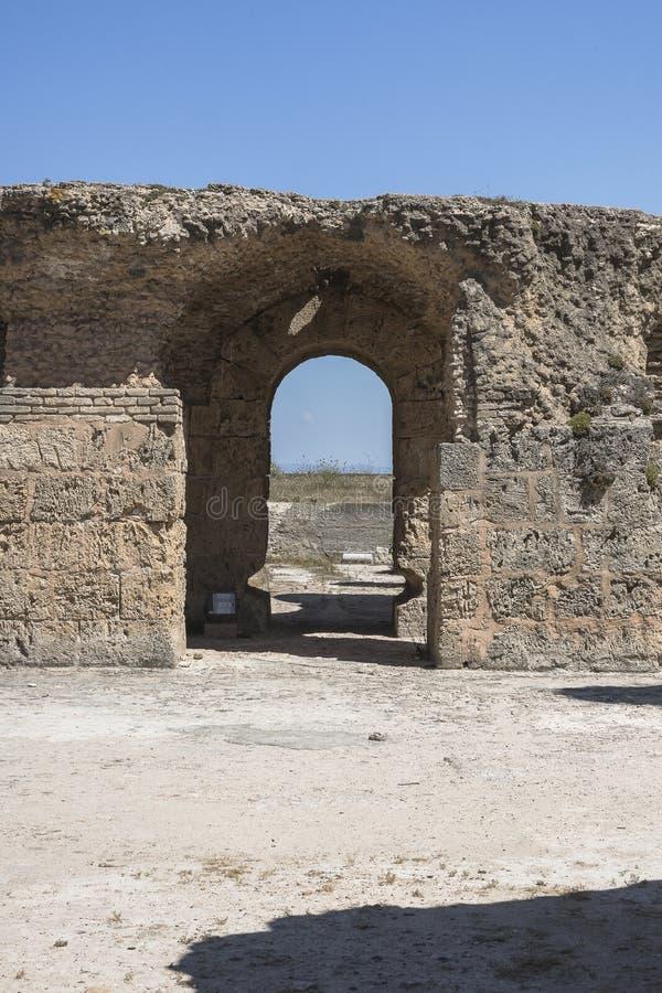 Caratagina w Tunezja zdjęcia stock