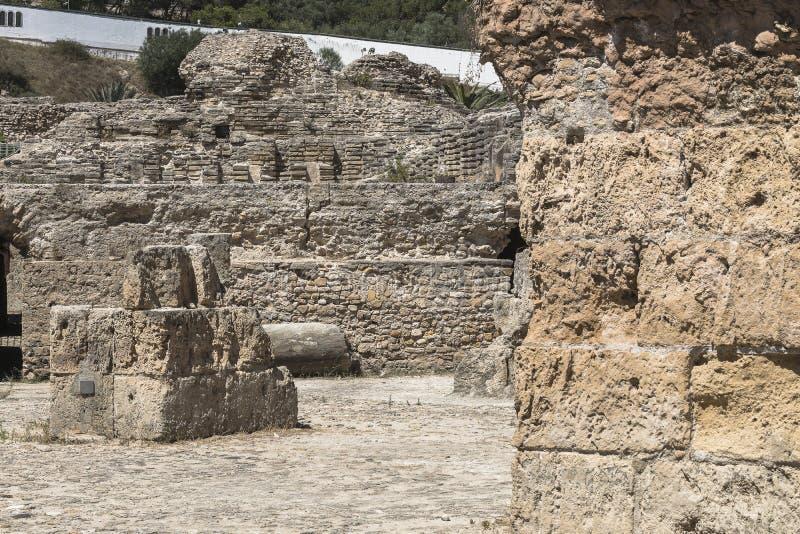 Caratagina w Tunezja zdjęcia royalty free