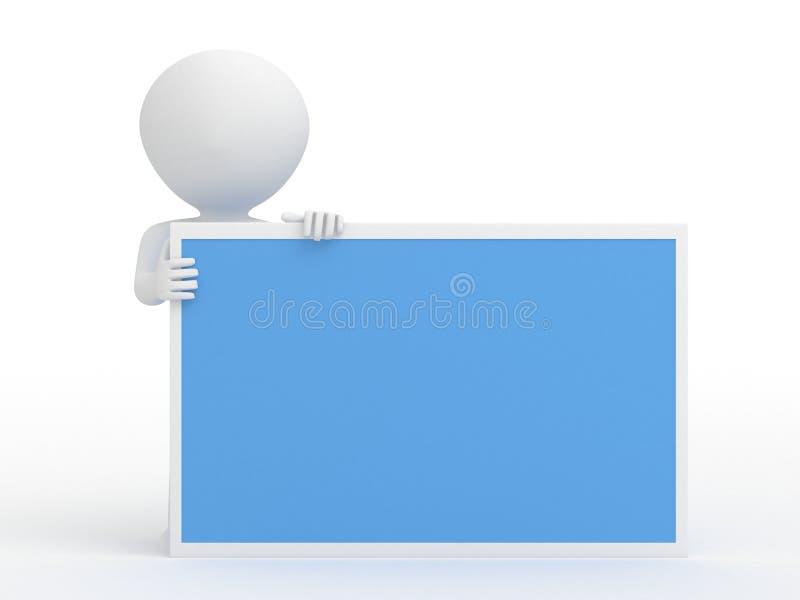 Download Carattere con copyspace illustrazione di stock. Illustrazione di blank - 30830722