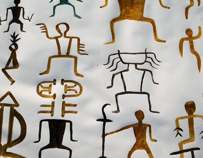 Caratteri cinesi antichi illustrazione vettoriale