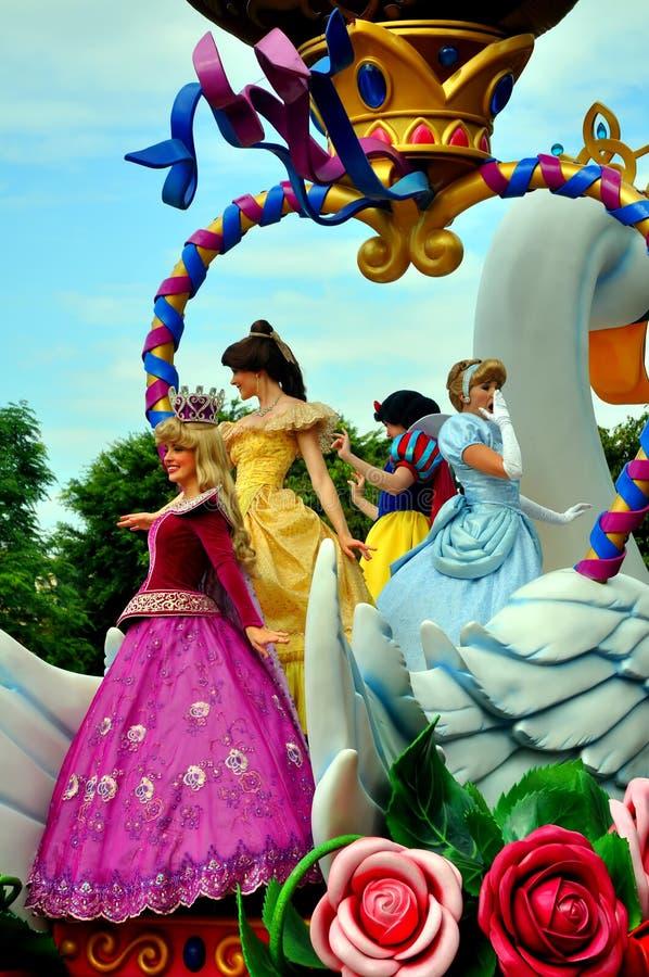 Caratteri del fairy del Disneyland immagine stock