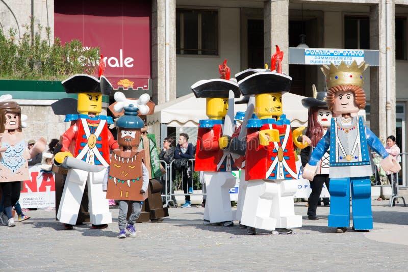 Caratteri di Lego immagine stock libera da diritti